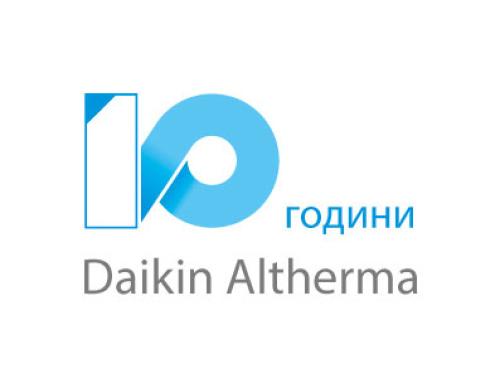 10 години Дайкин Алтерма