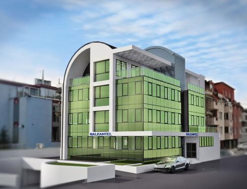Офис-сграда на фирма Балкантел, гр. София